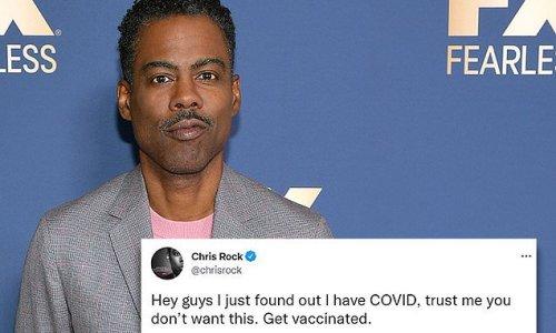 Chris Rock reveals he has COVID-19