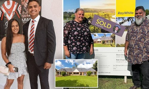 Footy star Latrell Mitchell buys parents 'dream home' for $1.8million