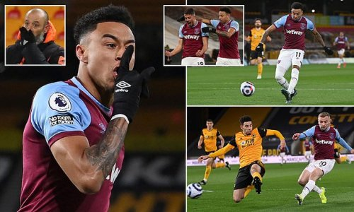 Wolves 2-3 West Ham: Hammers hold off fightback to go fourth