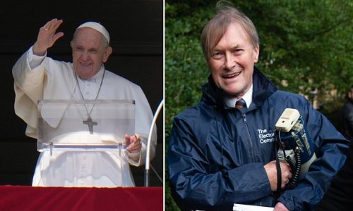 Pope Francis condemns the killing of MP David Amess