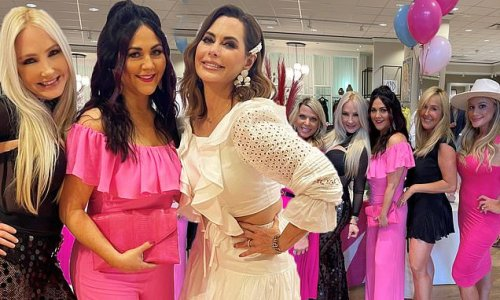 Real Housewives Of Dallas stars gather at new store