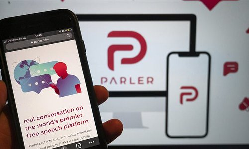 Parler is allowed back on Apple's app store