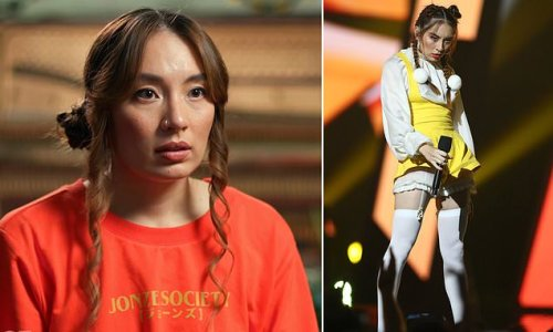 Musician Jaguar Jonze says two producers felt underneath her bra