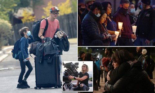 Albuquerque vigil honors the life of cinematographer Halyna Hutchins