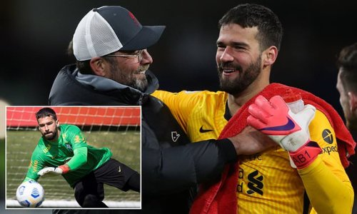 Liverpool to 'begin contract talks with Alisson' at the end of summer