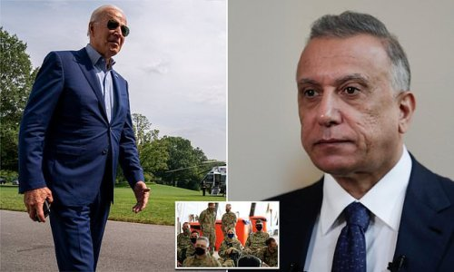 Biden will announce he is pulling US troops from Iraq