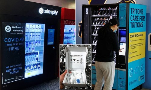 Vending machines selling COVID-19 home tests are coming to US cities