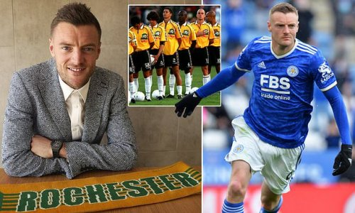 Vardy's journey with Rochester Rhinos set for documentary series