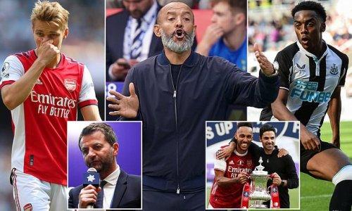 Tim Sherwood slams Arsenal and Tottenham's 'terrible recruitment'