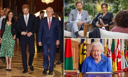Australia's ex-PM says Harry and Meghan saga boosts republican case