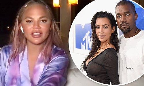 Chrissy Teigen opens up about pal Kim Kardashian's divorce from Kanye