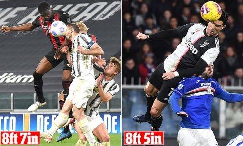 Fikayo Tomori breaks Cristiano Ronaldo's Serie A record with header