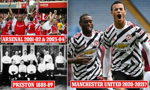 Man United could be the third club in top-flight history to...?
