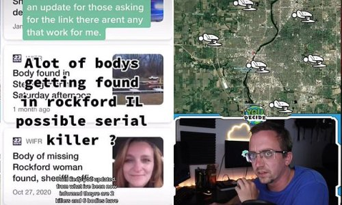 TikTokers claims there's a serial killer in Illinois town
