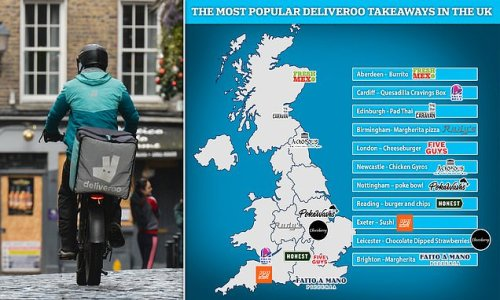 The most popular takeaway in your city revealed