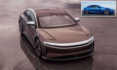 Lucid beats Tesla in most miles on a single charge