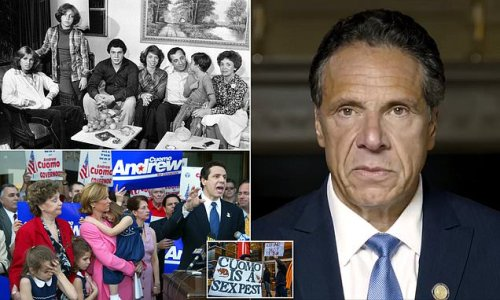 How Andrew Cuomo went from beloved governor to disgraced sex pest
