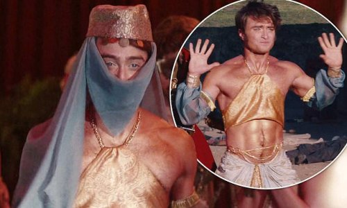 Daniel Radcliffe goes undercover as an exotic dancer in new series