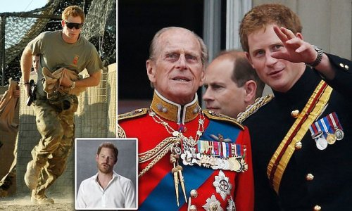 Prince Harry reveals Philip was 'matter of fact' about Afghanistan
