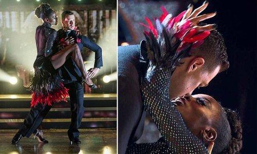 AJ Odudu is dating her strictly dance partner Kai Widdrington