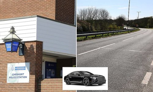 Police officers took seized £150k Bentley for an unauthorised drive