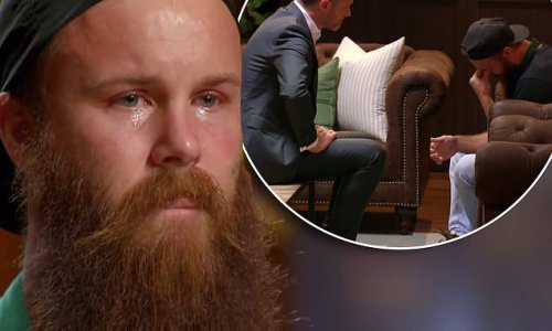 MasterChef's Brent Draper breaks down in tears and quits the show
