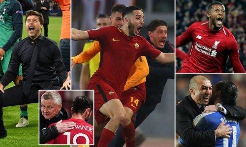 The European comebacks to inspire Roma ahead of Man United clash