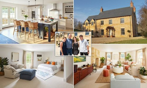 Family wins seven bed £2.5m Cotswold mansion for £25 in house raffle