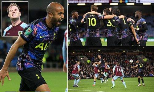 Burnley 0-1 Tottenham: Spurs book spot in Carabao Cup last eight