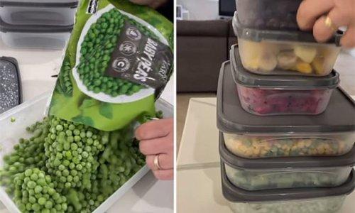 Mum's freezer organisation tip divides opinion