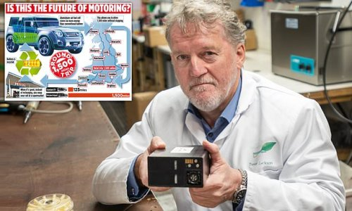 Father-of-eight invents an electric car battery