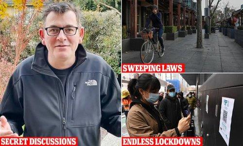 Dan Andrews' secret plan to make far-reaching pandemic laws permanent