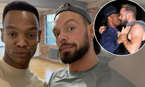 John Whaite claims he and Strictly's Johannes Radebe are just friends