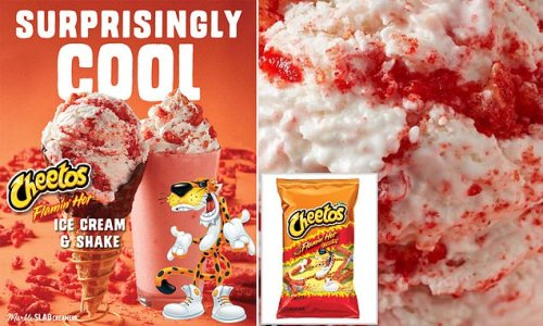 US ice cream chain debuts limited-edition Flamin' Hot CHEETOS flavor