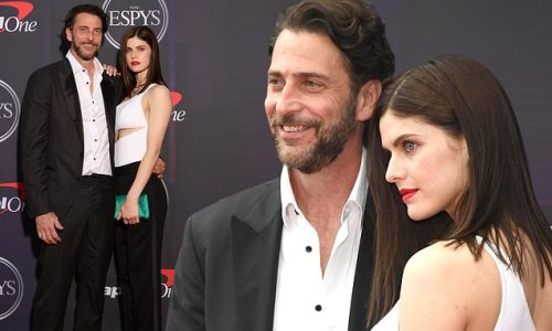 Alexandra Daddario and Andrew attend the ESPY Awards as a couple in NY