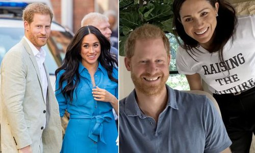 Six in 10 Britons say Prince Harry and Meghan should LOSE royal titles
