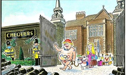 PAUL THOMAS on... Boris Johnson's showboating