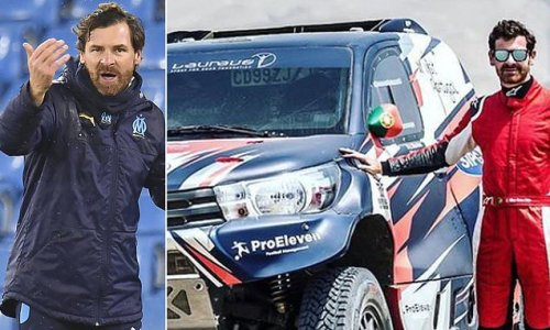 Andre Villas-Boas to make World Rally Championship debut