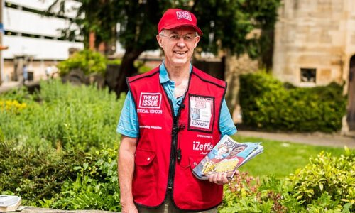 Archbishop of Canterbury Justin Welby turns Big Issue vendor