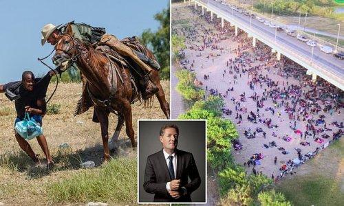 PIERS MORGAN: Border agent charging into Haitian migrants shames US