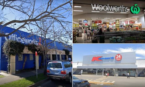 Coles, woolworths, Kmart and Officeworks add to Sydney exposure sites