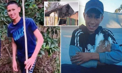 Boy, 14, may have died in a deliberate arson attack