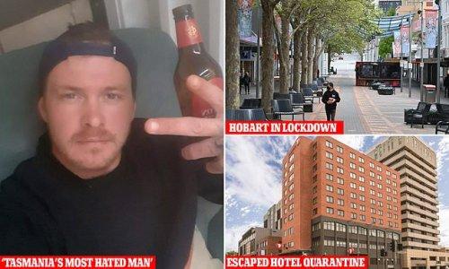 Man who locked down Tasmania APOLOGISES for leaving hotel quarantine
