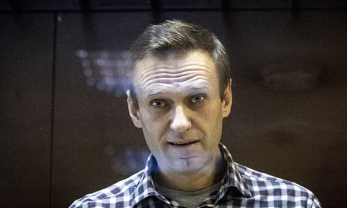 Putin critic Alexei Navalny is handed EU's top human rights prize