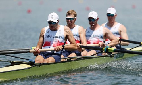 Team GB men's coxless four rowing dominance ends as they finish fourth