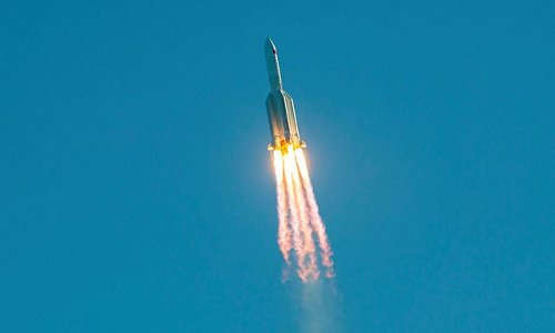Chinese Long March rocket breaks up on reentry over Maldives
