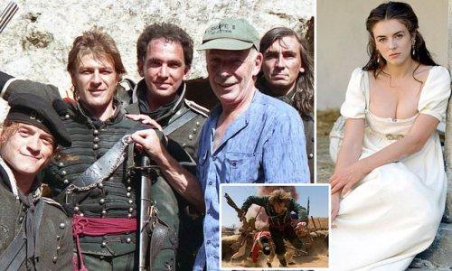 Filming Sharpe's Rifles was unglamorous... until Liz Hurley arrived