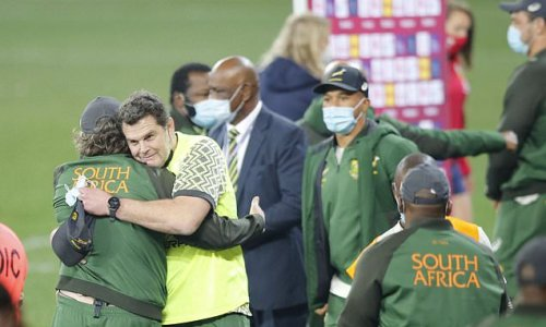 South Africa chief Rassie Erasmus can claim his mind games paid off