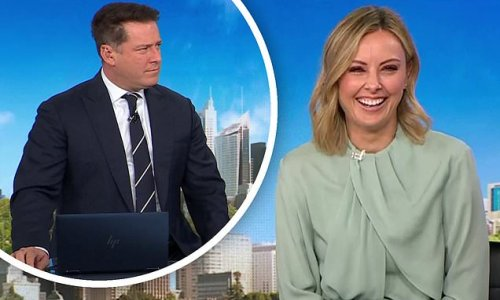 Today's Allison Langdon is roasted by Karl Stefanovic over Covid joke