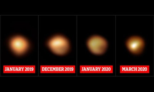Never-before-seen images of Betelgeuse solve its 2019 'Great Dimming'